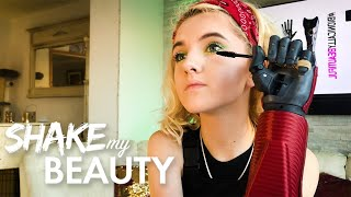 Teen With Bionic Arms Applies Flawless Makeup | SHAKE MY BEAUTY