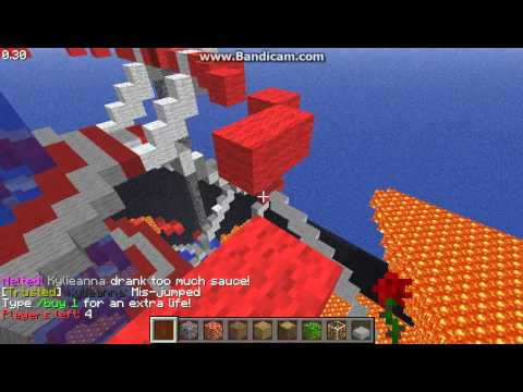 Minecraft: lets play blocktopia lava survival! ep. 2 death round?