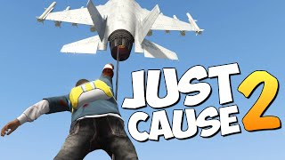 GTA 5 Mods : Just Cause 2 - НОВЫЕ ТРЮКИ! ОБНОВА