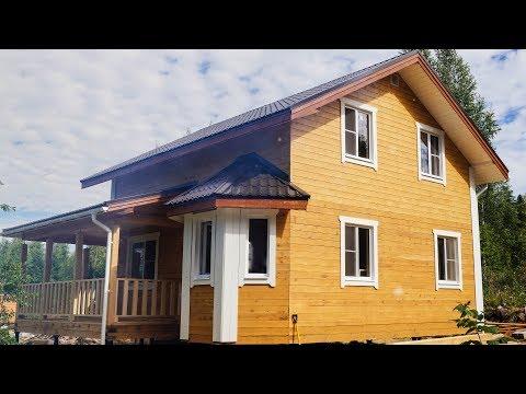 Дом из бруса 7х8 Проект №94 - внутренняя отделка
