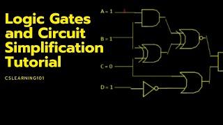 Logic Gates and Circuit Simplification Tutorial