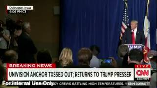Dismissed Reporter Returns and Trump Takes Question