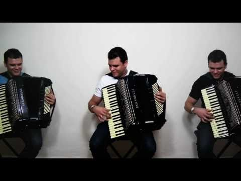 o verdadeiro TRIO DE SANFONEIRO - divulg. video aula curso acordeon sanfona Music Videos