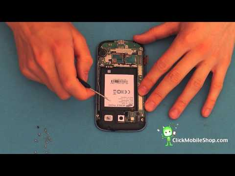[How to] Take apart a Samsung Galaxy S3 i9300 FIX LCD, speaker, vibrator motor - Video Repair Guide