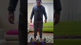 Hoverboard nasıl binilir???