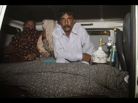 Pakistani woman stoned to death by family in front of court after marrying  (Farzana Iqbal)