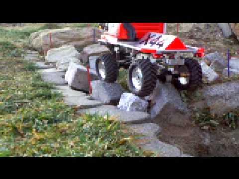 rc truck trial - Unimog U300 X44V1 2009