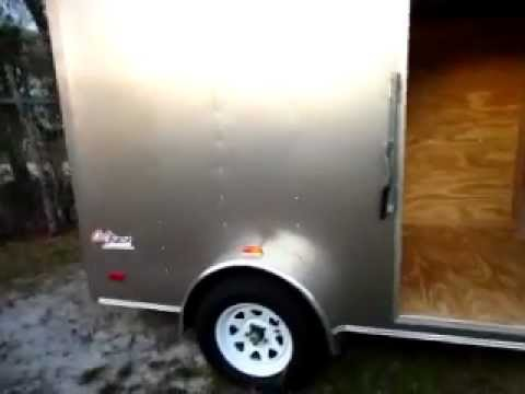 6x10 Pace American Enclosed Trailer for sale (NEW)