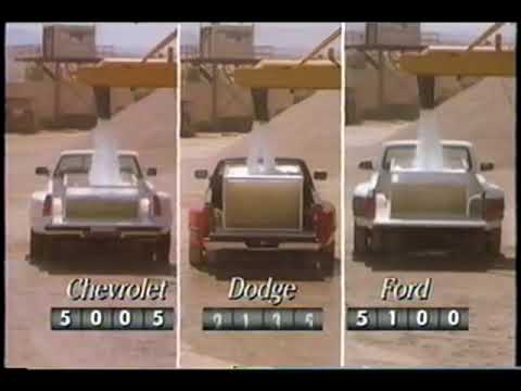 1994 Dodge Ram promotional compilation Video