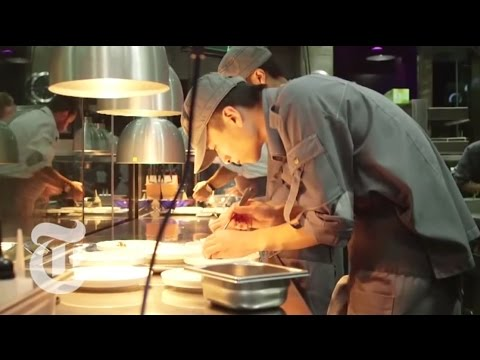 A 22-course Meal, In 22 Settings - Shanghai's Ultraviolet Restaurant video