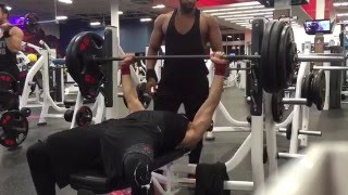 305lb Bench fail (4/27/2016) at 160lb