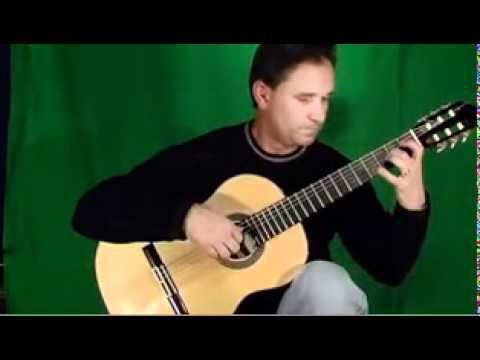 Classical guitar ,Canarios by Gaspar Sanz Classical Guitar, james Hunley