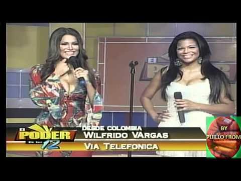 Wilfrido Vargas Se Killa Por Vestido Muy Corto De Alina Vargas  Su Hija