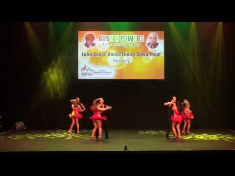 Sydney Latin Festival 2017 - LATIN DANCE HOUSE  LUNA'S SALSA TEAM