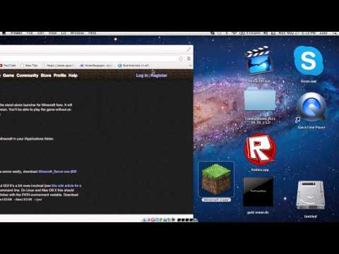 How to play minecraft for free! (Demo) (Mac)