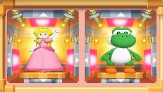 Mario Party 7 - 8 Player Ice Battle - Peach Yoshi Daisy Mario Team All Funny Mini Games (Master CPU)