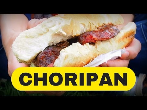 Choripan - Best Street Food in Buenos Aires, Argentina