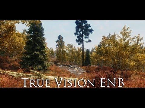 TES V - Skyrim Mods: True Vision ENB