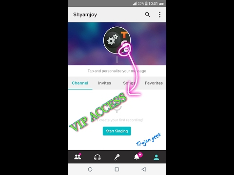 Smule Sing karaoke Vip Pass Hack(Full Features) Life time | Android
