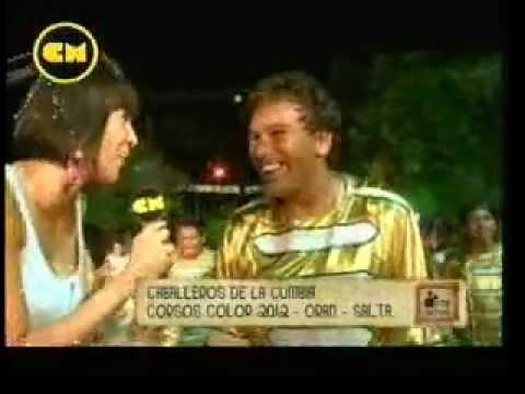 Caballeros de la Cumbia Corsos Color Oran 2012 Canal de la Musica CM Oran x Vos