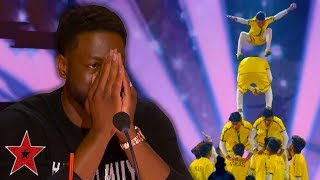 DANGEROUS Acrobats Get Guest GOLDEN BUZZER On America's Got Talent 2019 | Got Talent Global