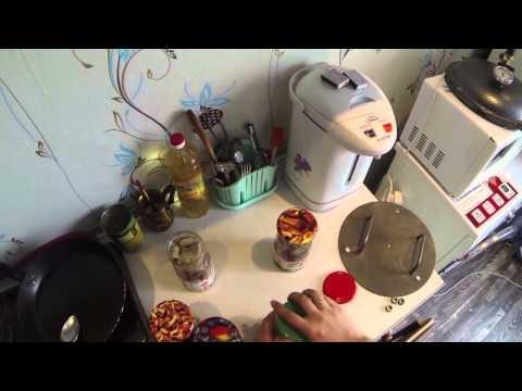 рыбная консерва в домашних условиях!
