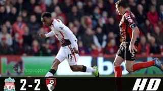 Liverpool vs AFC Bournemouth 2-2 All Goals & Highlights (Premier League) 05-04-2017