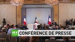 Fin du grand débat national : Conférence de presse d'Emmanuel Macron