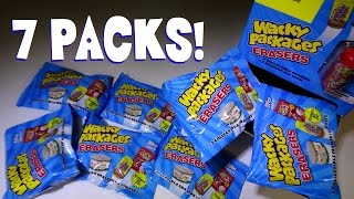 Opening Blind Bags: Wacky Packages ERASERS and Stickers (PART 2)!