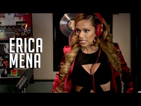 Erica Mena spills on her wedding secrets + supporting Bow wow!