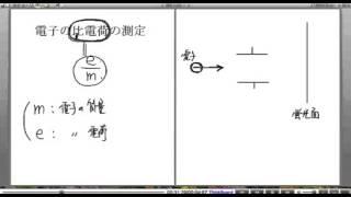 高校物理解説講義:「電子の発見」講義3