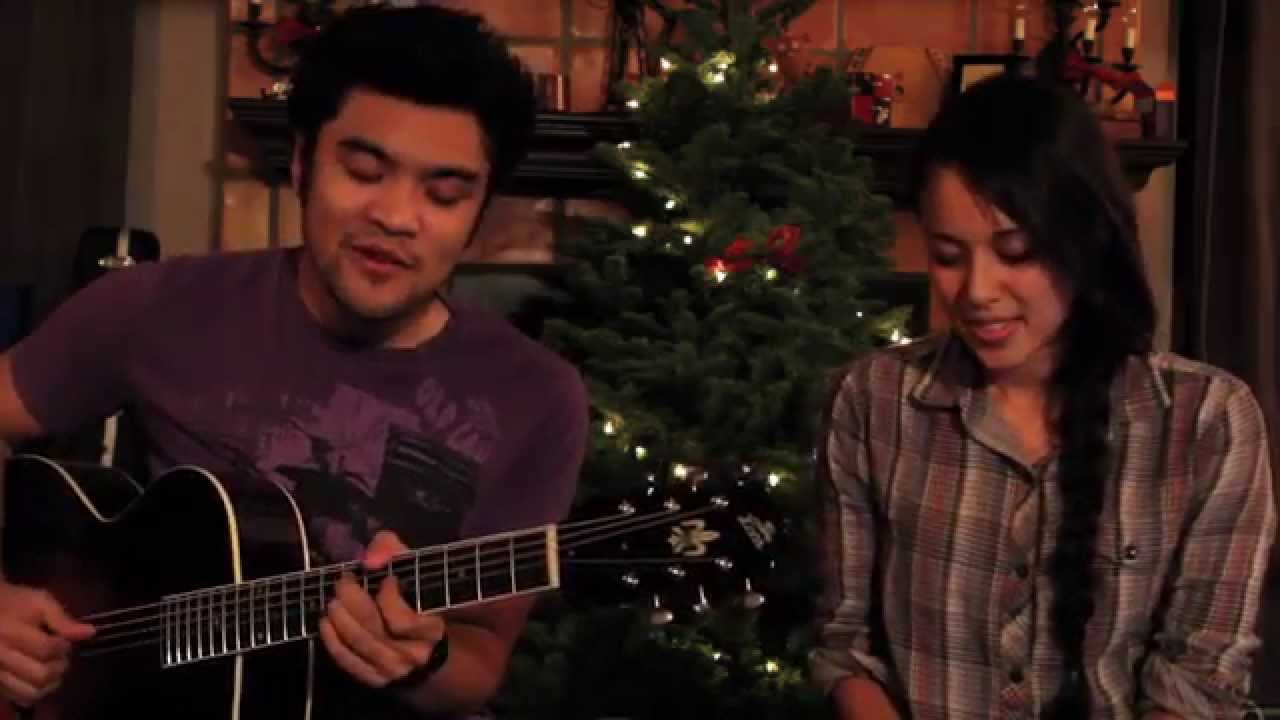Let It Snow Kina Grannis Amp Gabe Bondoc Youtube