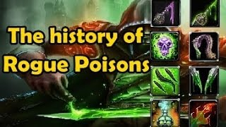 The History of Rogue Poisons (Vanilla WoW to Mists)