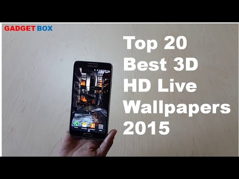 Top 20 Live Wallpapers 2015 HD