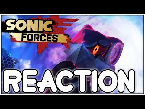 NEW SONIC FORCES JAPANESE TRAILER REACTION!
