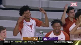 Texas at Kansas State Men's Basketball Highlights