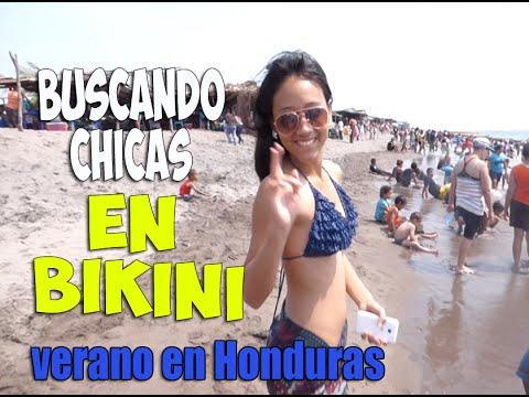 Buscando Chicas en BIKINI - Verano Honduras 2016 PARTE 1