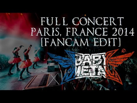 BabyMetal Full Show Paris FULL