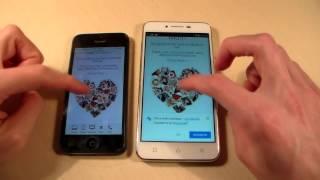 Lenovo K5 Plus vs iPhone 5 (HD)