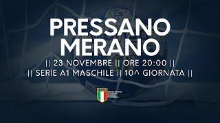 Serie A1M [10^]: Pressano - Meran 28-29