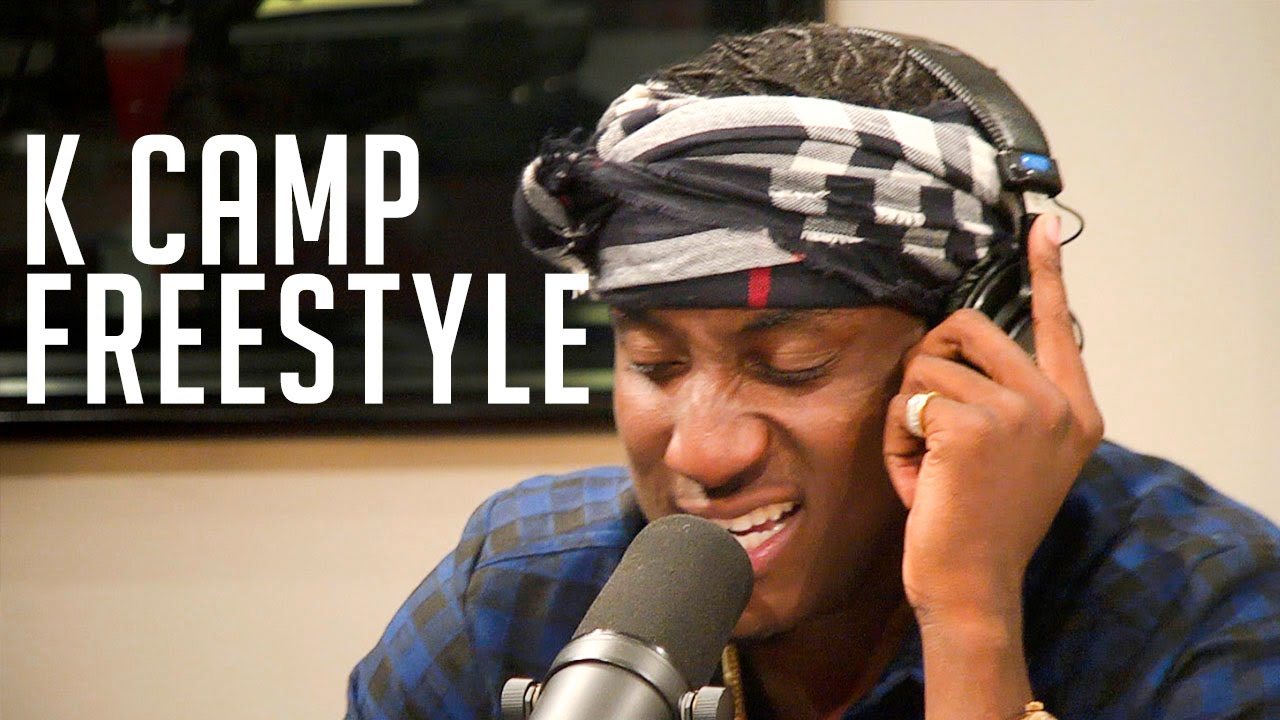 "K Camp Freestyles Over Future's ""March Madness"" With Funkmaster Flex!"