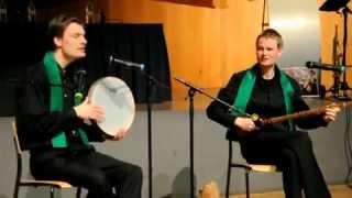 آواز  مرغ سحر با صدای دو هنرمند هلندی