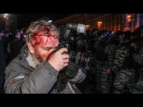 UKRAINE PROTESTS: - The TRUTH Behind The KIEV Uprising.  U S  Funded REGIME CHANGE