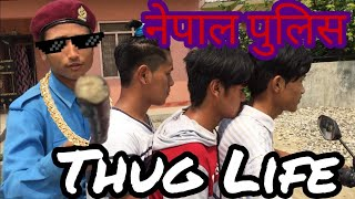 Nepal Police Thug Life | funny video | 2k + subscribers special |