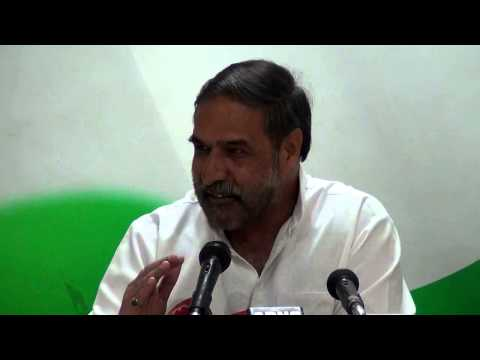 AICC Press Conference addressed by Anand Sharma and Shobha Ojha