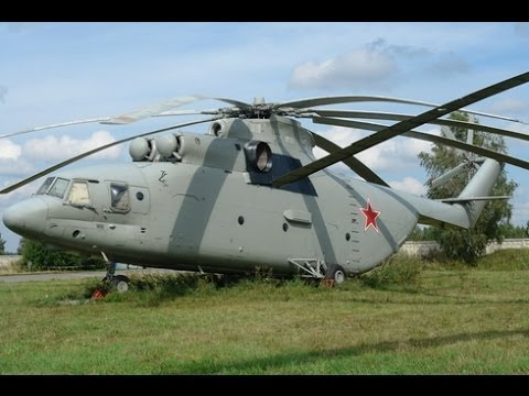Mi-26: World's largest series transport helicopter