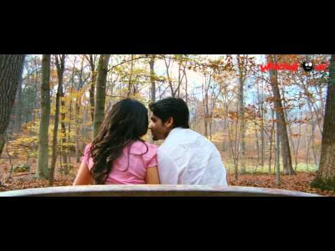 Sarada Herione Samantha Ye Maya Chesave - Lip Kiss Scene- Naga Chaitanya And Samantha video