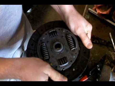 How a Clutch Disc Works With Flywheel & Pressure Plate