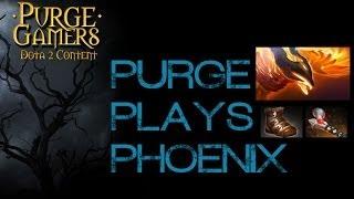Dota 2 Purge plays Phoenix