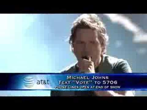 American Idol 7 Top 10 - Michael Johns - We Are The Champion